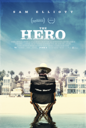 The Hero (2017 film) - Theatrical release poster