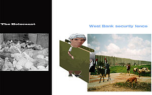 The Holocaust, West Bank security fence and th...