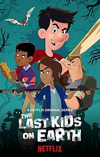 <i>The Last Kids on Earth</i> (TV series) Childrens animation streaming television series