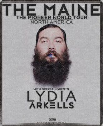 The Maine Presents: The Pioneer World Tour - Image: The Maine Presents The Pioneer World Tour