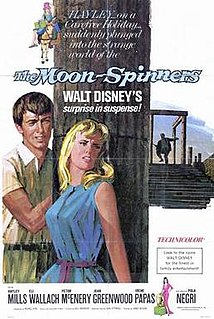 <i>The Moon-Spinners</i> 1964 film by James Neilson