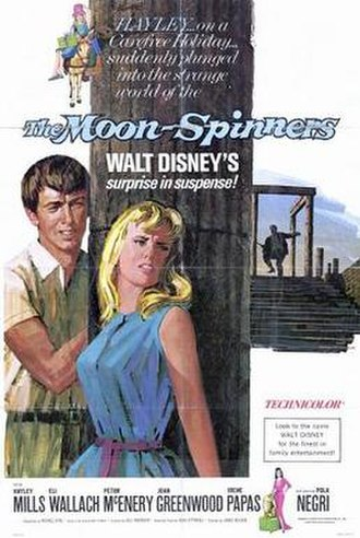The Moon-Spinners - Theatrical release poster