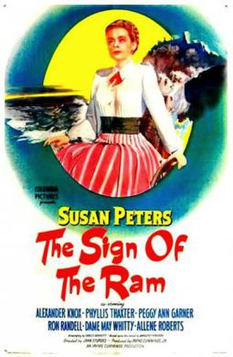The Sign of the Ram - Theatrical release poster