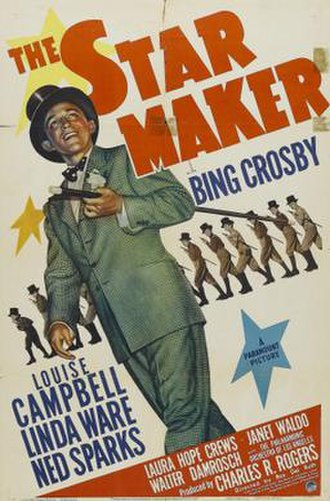 The Star Maker (1939 film) - Theatrical release poster