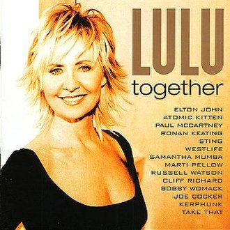 Together (Lulu album) - Image: Togetherlulu