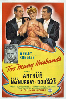 <i>Too Many Husbands</i> 1940 film by Wesley Ruggles