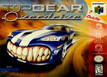Top gear overdrive wikipedia top gear overdrive coverartg sciox Image collections