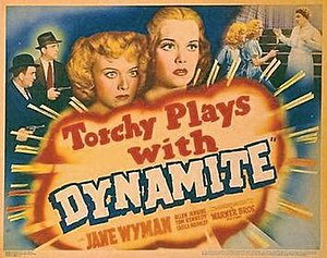 Torchy Blane... Playing with Dynamite - Movie poster