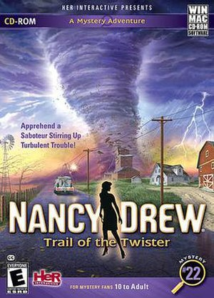 Nancy Drew: Trail of the Twister - Image: Trailoftwisterbox