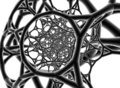 Truncated cosmotetron stereographic oblique.png
