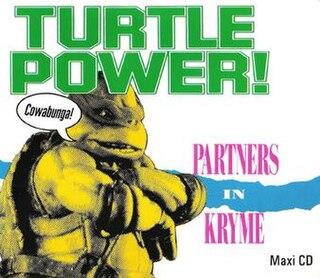 Turtle Power! 1990 single by Partners in Kryme