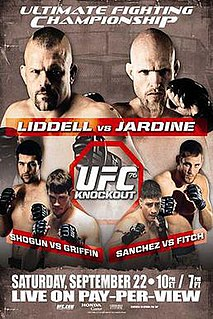 UFC 76 UFC mixed martial arts event in 2007