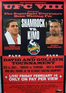 UFC 8 UFC mixed martial arts event in 1996