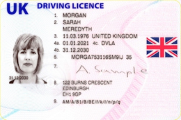 Driving licence in the United Kingdom