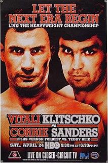 Vitali Klitschko vs. Corrie Sanders