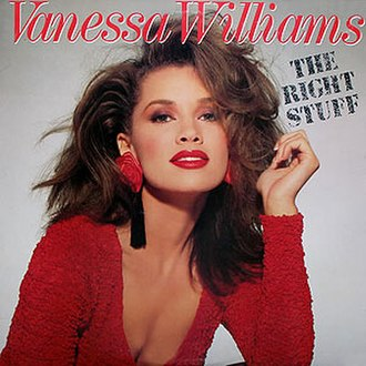 The Right Stuff (song) - Image: Vanessa Williams The Right Stuff single cover