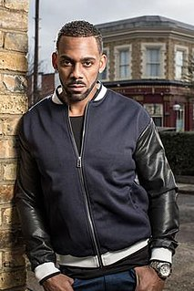 Vincent Hubbard fictional character from the BBC soap opera EastEnders