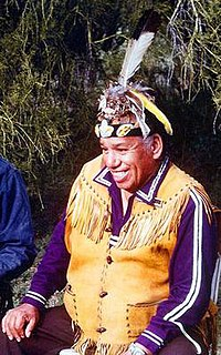 "Wallace ""Mad Bear"" Anderson Native American activist"
