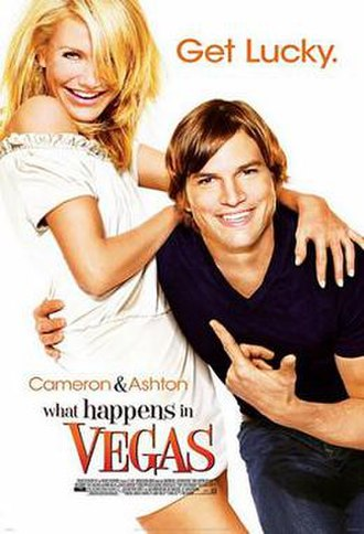 What Happens in Vegas - Theatrical release poster