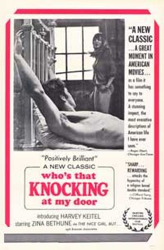 Who's That Knocking at My Door - Theatrical release poster