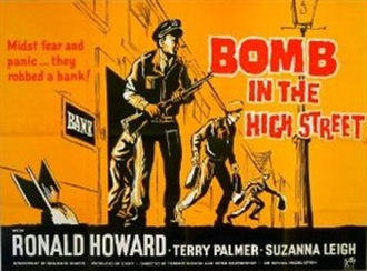 Bomb in the High Street - British quad poster