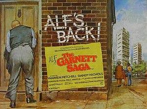 The Alf Garnett Saga - UK theatrical poster