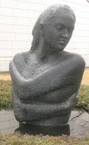 Emilio Greco - Image: 'Laura', bronze sculpture by Emilio Greco, 1973, Hiroshima Museum of Art