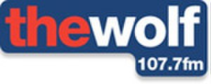 107.7 The Wolf - Image: 107.7 The Wolf (logo)