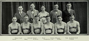 1926–27 Illinois Fighting Illini men's basketball team - Image: 1926–27 Illinois Fighting Illini men's basketball team