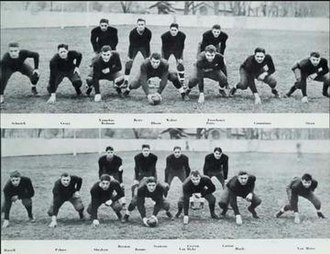1932 Illinois Fighting Illini football team - Image: 1932 Illinois Fighting Illini football team