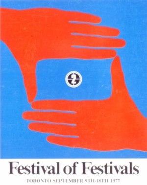 1977 Toronto International Film Festival - Festival poster