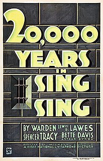 <i>20,000 Years in Sing Sing</i> 1932 film