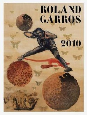 2010 French Open - Image: 2010 French Open poster