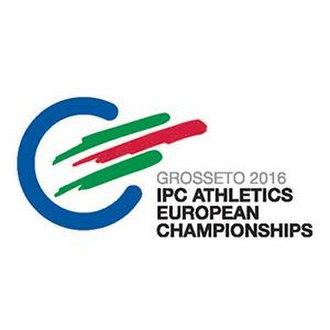 2016 IPC Athletics European Championships - Image: 2016 IPC Athletics European Championships logo