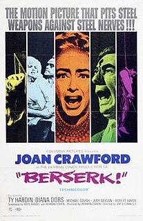 <i>Berserk!</i> 1967 British film directed by Jim OConnolly