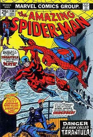 Tarantula (Marvel Comics) - Image: ASM134Cover