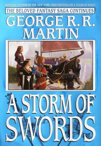 A Storm of Swords - US hardcover (first edition)