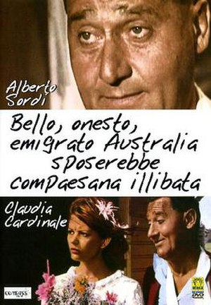 A Girl in Australia - Film poster