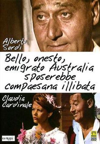 A Girl in Australia - Film poster