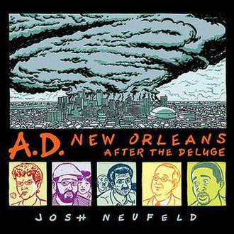 A.D.: New Orleans After the Deluge - The cover to Pantheon's hardcover edition of A.D.
