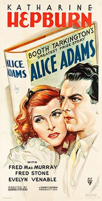 Alice Adams (film) - Theatrical release poster