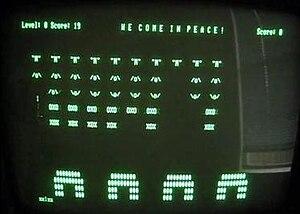 Aliens (Kaypro video game) - Screenshot of Aliens.