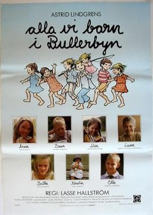 The Children of Noisy Village (film) - Image: Alla vi barn i Bullerbyn