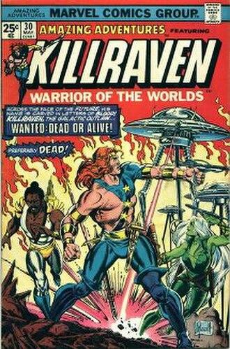 Killraven - Image: Amazing Adventures 30 (1970)