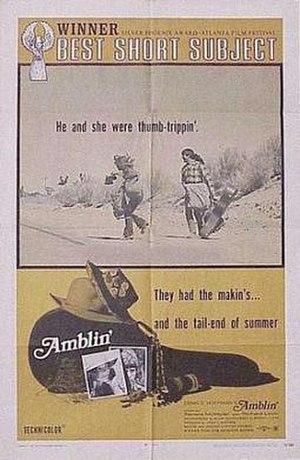 Amblin' - Poster