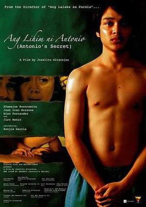 Ang Lihim ni Antonio - Theatrical release poster