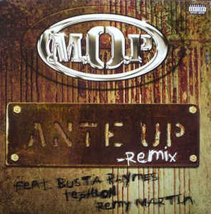 Ante Up (song) - Image: Ante Up remix