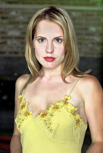 Anya Jenkins - Emma Caulfield as Anya Jenkins in 2002.