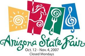 Arizona State Fair - Image: Arizona State Fair 2007 Color logo