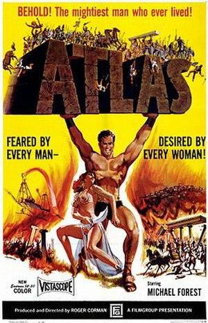 Atlas (film) - Original film poster using extensive artistic license